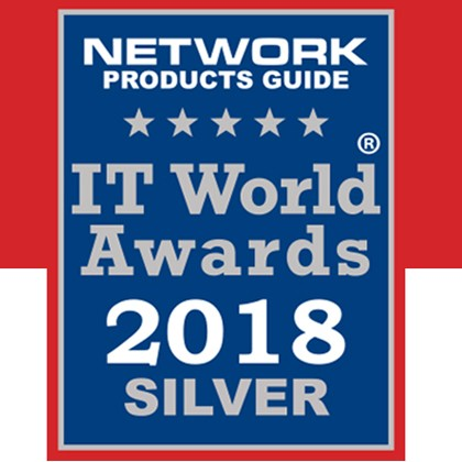 2018 – IT World Awards – New Products and Services